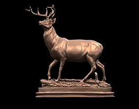 Deer Sculpture 3D printable model