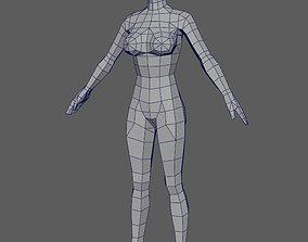 Base Woman 2 3D asset