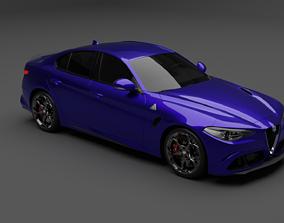 car Alfa Romeo Giulia 3D