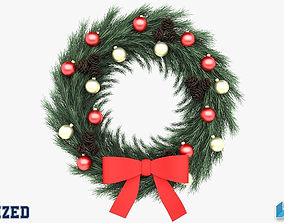3D Christmas Wreath decoration