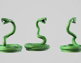Giant snake 3D print model
