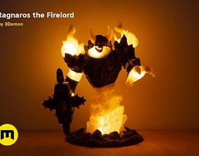3D printable model Firelord Lamp Figure Ragnaros