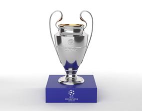 Champions League Trophy 3D champions