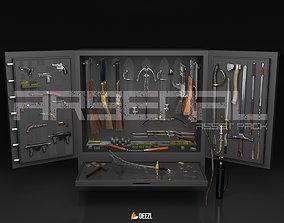 Arsenal - Asset Pack - Blender and FBX 3D model