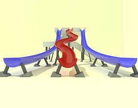 Big slide 3D model