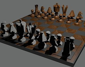 Chessboard 3D print model