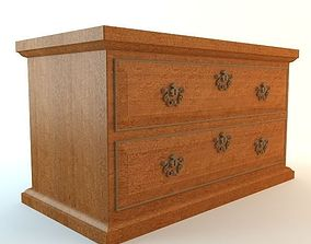Small Drawer Chest 3D