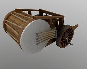 3D asset Da Vinci Drum