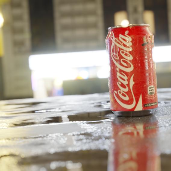 Realistic soda can