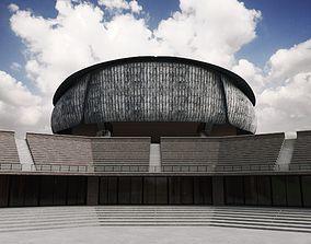 Parco della Musica Renzo Piano 3D
