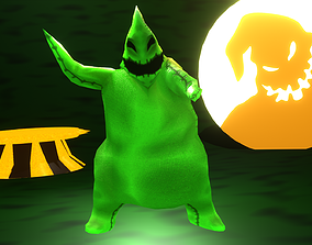 Oogie Boogie-The Nightmare Before Christmas 3D asset