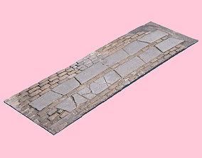 bricks Brick Crosswalk-3D Scan