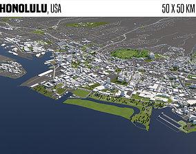 Honolulu 3D