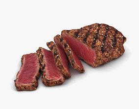 Medium Rare Steak 3D