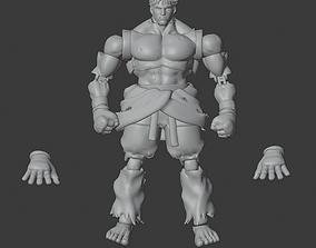 3D print model KAGE SFV Articulated
