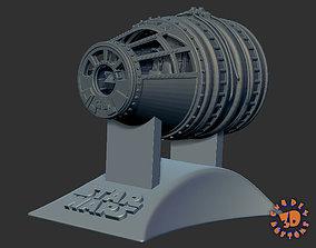 Millennium Falcon Cockpit - read 3D print model 2