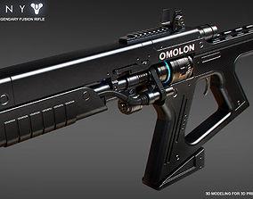 3D printable model THESAN FR4 Legendary Fusion Rifle