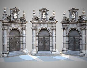 Architectural Entrance Door 3D model