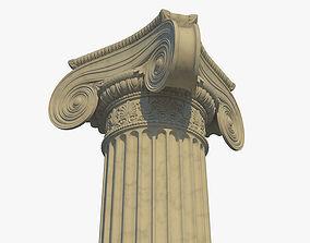 Ionic column corner b 3D model