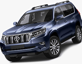 Toyota Land Cruiser J150 2018 3D