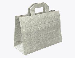 3D model PBR Fabric bag medium with handle