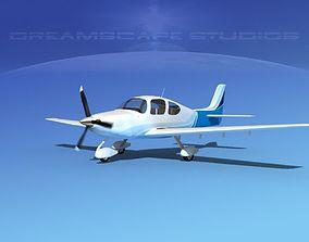 3D model Cirrus SR22 V09