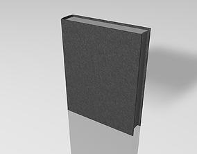 Closed Book 3D asset