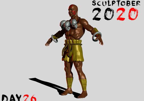 Sculptober Day 26 Extend