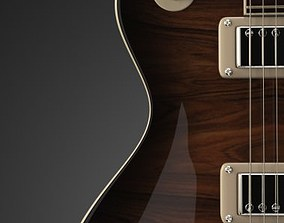 instrument 3D Gibson Les Paul Custom