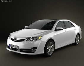 3D Toyota Camry US SE 2012