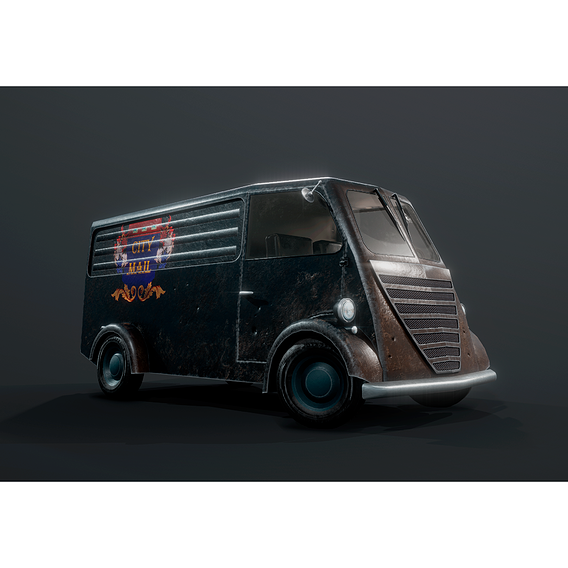 Game ready mail van