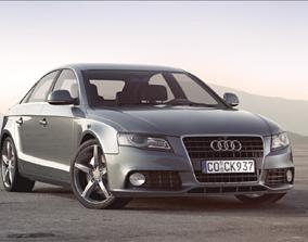 Audi A4 3D model germany
