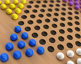3D model Chinese Checkers