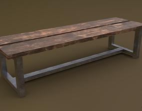 3D model Bench 21