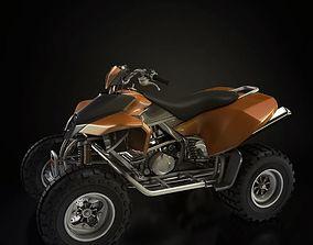 Four Wheel Motorbike 3D