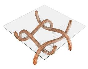 3D Contour Coffee Table