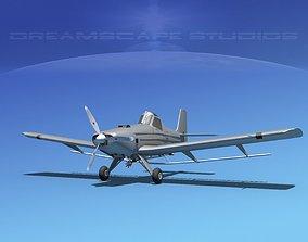EMB-202 Crop Duster Base Model 3D