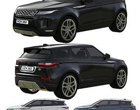 3D model Range Rover Land Rover Evoque