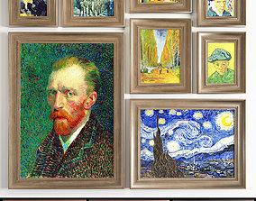 Vincent van Gogh 3D asset