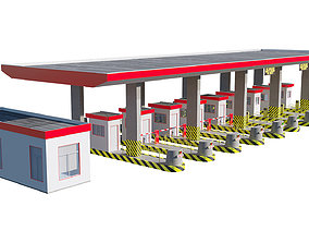 3D Highway Toll Booth