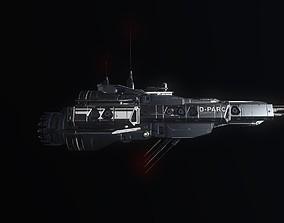 Spaceship02 3D asset