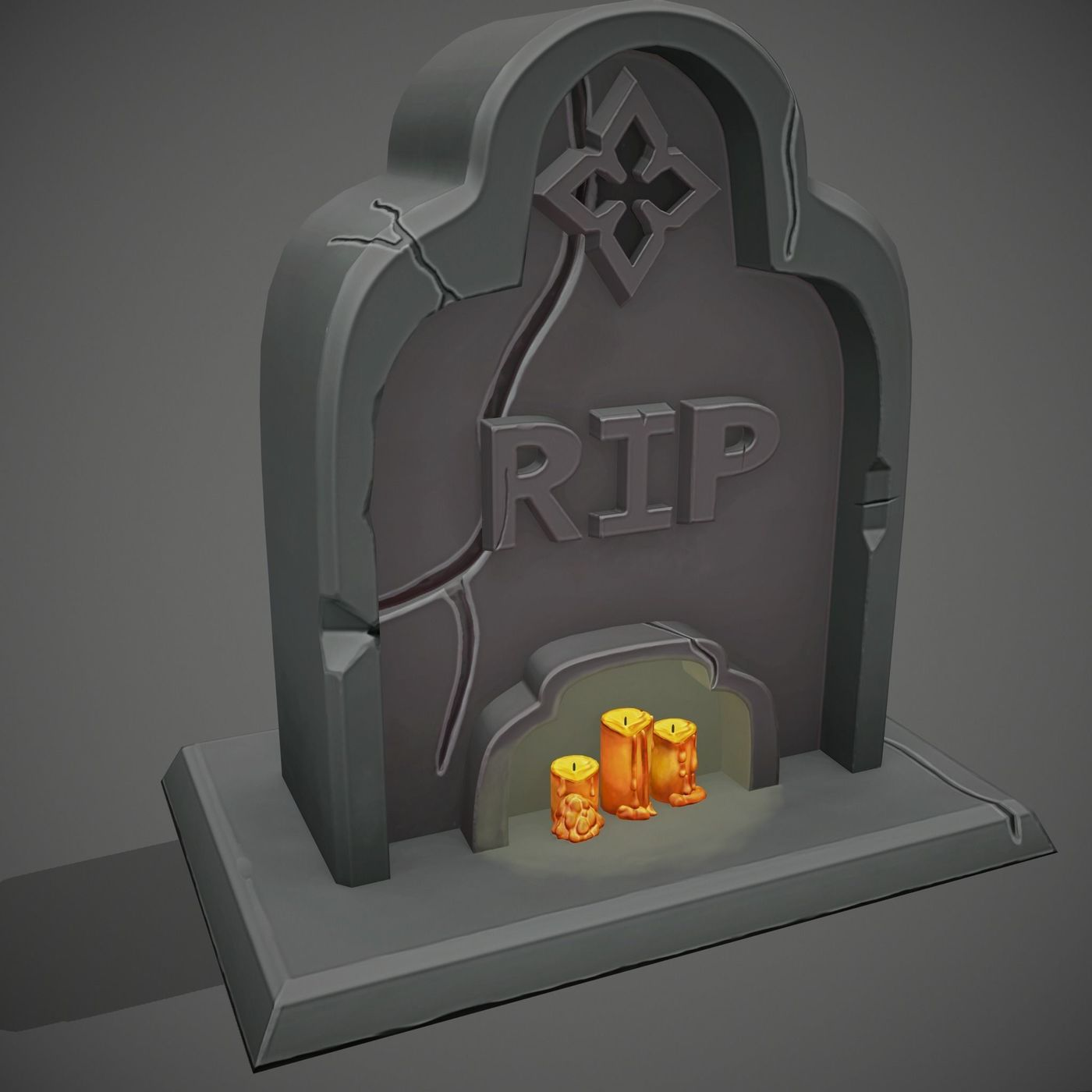 Stylized Grave
