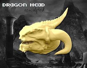 3D print model Dragon Head Sculpt 45mb
