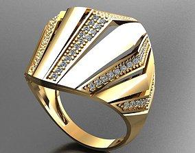 jewlery models 3D print model Fancy Ring