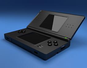 High Quality Nintendo DS Lite 3D model computer