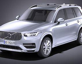 Volvo XC90 2015 VRAY 3D model