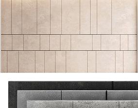 3D model Decorative wall panel set 38