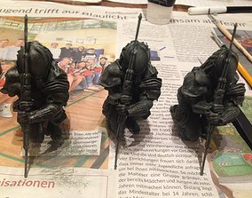 3D print model Predator Statue Fanmade for Wargaming 2