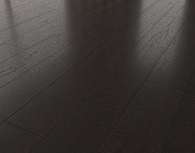 Wood Oak Floor Black WWL 3D model