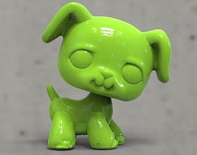 3D printable model dog a toy